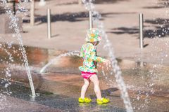Πηγές Plaza Στοκ φωτογραφίες με δικαίωμα ελεύθερης χρήσης