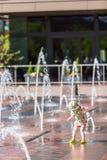 Πηγές Plaza Στοκ Φωτογραφίες
