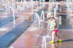 Πηγές Plaza Στοκ φωτογραφία με δικαίωμα ελεύθερης χρήσης