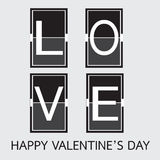 Πηγή αγάπης στις μηχανικές επιστολές επιτροπής Τυπογραφία, πηγή, τύπος VE ελεύθερη απεικόνιση δικαιώματος