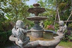 Πηγή κήπων Στοκ Εικόνα