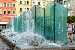 πηγή Καζακστάν πρωτευουσών astana Στοκ Εικόνες