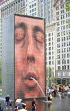 πηγή κορωνών του Σικάγου Στοκ φωτογραφία με δικαίωμα ελεύθερης χρήσης