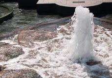 Πηγή νερού και waterscape στο Washington DC Στοκ Εικόνα