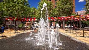 Πηγή νερού στο στο κέντρο της πόλης San Antonio, Τέξας Στοκ φωτογραφία με δικαίωμα ελεύθερης χρήσης