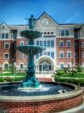 Πηγή νερού Benedictine στο κολλέγιο στοκ φωτογραφία με δικαίωμα ελεύθερης χρήσης