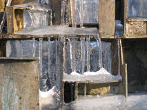 πηγή παγωμένη Στοκ εικόνες με δικαίωμα ελεύθερης χρήσης