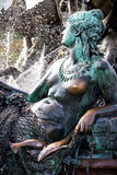 πηγή Ποσειδώνας Βερολίνο Γερμανία Στοκ φωτογραφία με δικαίωμα ελεύθερης χρήσης