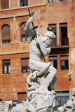 Πηγή Ποσειδώνα στη Ρώμη, Ιταλία Στοκ εικόνα με δικαίωμα ελεύθερης χρήσης