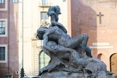 πηγή Ρώμη Στοκ Εικόνες