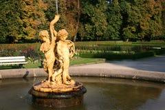 Πηγή σαλπίγγων Cupids Στοκ εικόνα με δικαίωμα ελεύθερης χρήσης