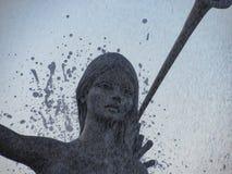 Πηγή σε Ποσειδώνα Στοκ Εικόνες