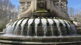 Πηγή σε Plaza Espana, Μαδρίτη Στοκ εικόνες με δικαίωμα ελεύθερης χρήσης