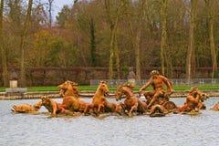 Πηγή στις Βερσαλλίες στοκ φωτογραφίες με δικαίωμα ελεύθερης χρήσης
