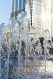 Πηγή στο Ντουμπάι Στοκ φωτογραφίες με δικαίωμα ελεύθερης χρήσης
