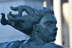 πηγή στο trafalgar τετράγωνο Στοκ εικόνα με δικαίωμα ελεύθερης χρήσης