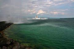 Πηγή της λίμνης Γενεύη Στοκ εικόνες με δικαίωμα ελεύθερης χρήσης
