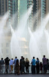 Πηγή του Ντουμπάι Στοκ φωτογραφίες με δικαίωμα ελεύθερης χρήσης