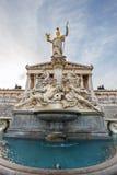 Πηγή του Παλλάς Αθηνά στη Βιέννη, Αυστρία στοκ εικόνες με δικαίωμα ελεύθερης χρήσης