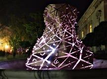 Πηγή του φωτός που φωτίζεται Στοκ εικόνα με δικαίωμα ελεύθερης χρήσης