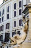 Πηγή του Pantheon στοκ εικόνα