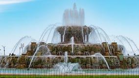 Πηγή Buckingham στο Σικάγο - φωτογραφία οδών στοκ εικόνες με δικαίωμα ελεύθερης χρήσης
