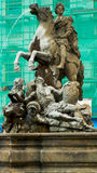 Πηγή Caesar σε Olomouc Στοκ Εικόνες