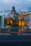 Πηγή Cibeles, Μαδρίτη Στοκ εικόνες με δικαίωμα ελεύθερης χρήσης