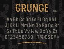 Πηγή 002 Grunge Στοκ εικόνα με δικαίωμα ελεύθερης χρήσης