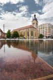 πηγή Maurice Άγιος εκκλησιών του Annecy Στοκ Φωτογραφία