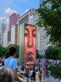 Πηγή Millennium Park του Σικάγου Στοκ φωτογραφία με δικαίωμα ελεύθερης χρήσης