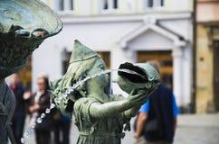 Πηγή Olomouc, τσεχικός repuplic Στοκ Εικόνες
