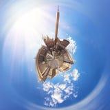 πηγή Peter Ρώμη s τετραγωνικό ST Βατικανό πόλεων bernini βασιλικών ανασκόπησης Πανόραμα κύκλων Στοκ Φωτογραφία