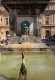 Πηγή Place de Λα Republique σε Arles, Γαλλία Στοκ εικόνες με δικαίωμα ελεύθερης χρήσης