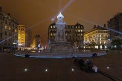Πηγή Place des Jacobins Στοκ Εικόνες