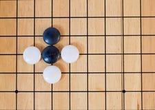 Πηγαίνετε, ιαπωνικό επιτραπέζιο παιχνίδι Στοκ Φωτογραφία