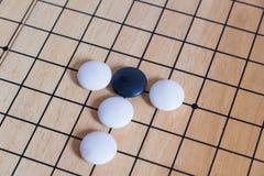 Πηγαίνετε, ιαπωνικό επιτραπέζιο παιχνίδι Στοκ Φωτογραφίες