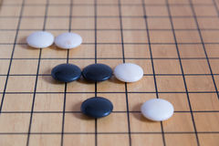 Πηγαίνετε, ιαπωνικό επιτραπέζιο παιχνίδι Στοκ φωτογραφία με δικαίωμα ελεύθερης χρήσης