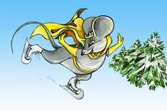 πηγαίνετε ποντίκι κάνοντα&sig Στοκ εικόνα με δικαίωμα ελεύθερης χρήσης