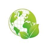 Πηγαίνετε πράσινη οικολογία Στοκ Φωτογραφίες