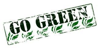 πηγαίνετε πράσινος ανακύκ διανυσματική απεικόνιση