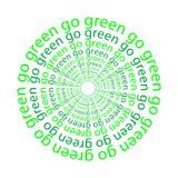 πηγαίνετε πράσινος Στοκ Φωτογραφία