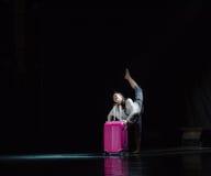 Πηγαίνετε σε έναν χορό ταξίδι-πανεπιστημιουπόλεων Στοκ Φωτογραφίες