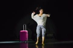 Πηγαίνετε σε έναν χορό ταξίδι-πανεπιστημιουπόλεων Στοκ φωτογραφία με δικαίωμα ελεύθερης χρήσης
