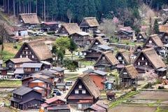 πηγαίνετε shirakawa της Ιαπωνίας στοκ φωτογραφίες