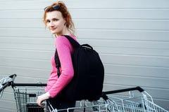 πηγαίνοντας κατάστημα Στοκ φωτογραφία με δικαίωμα ελεύθερης χρήσης
