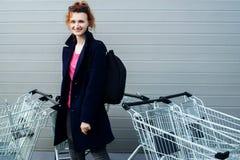 πηγαίνοντας κατάστημα Στοκ Εικόνες