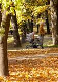πηγαίνοντας περίπατος μωρών Στοκ φωτογραφία με δικαίωμα ελεύθερης χρήσης