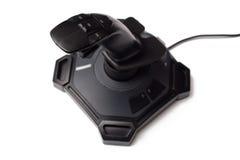 πηδάλιο παιχνιδιών ελεγκτών υπολογιστών στοκ εικόνα