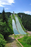 πηδά oberhof το σκι Στοκ φωτογραφία με δικαίωμα ελεύθερης χρήσης